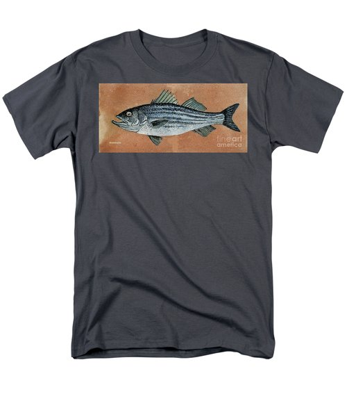 Men's T-Shirt  (Regular Fit) featuring the painting Striper by Andrew Drozdowicz