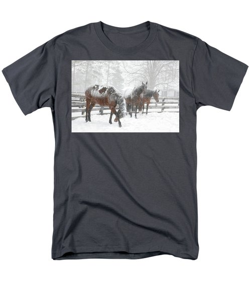 Tails To The Wind Men's T-Shirt  (Regular Fit) by Gary Hall
