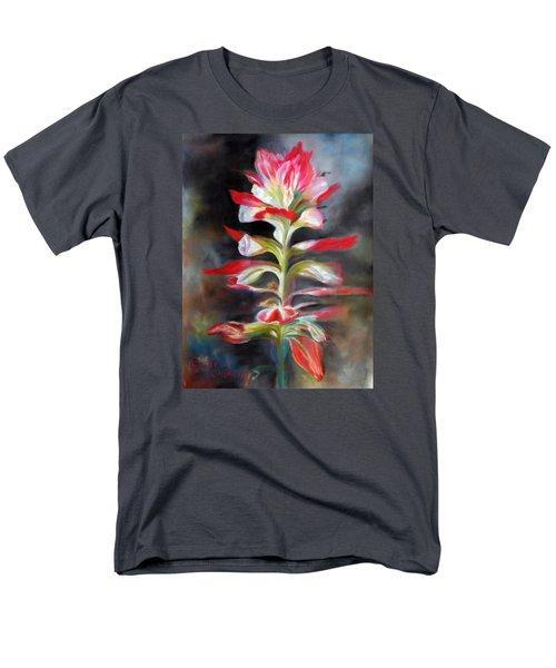 Texas Indian Paintbrush Men's T-Shirt  (Regular Fit) by Karen Kennedy Chatham