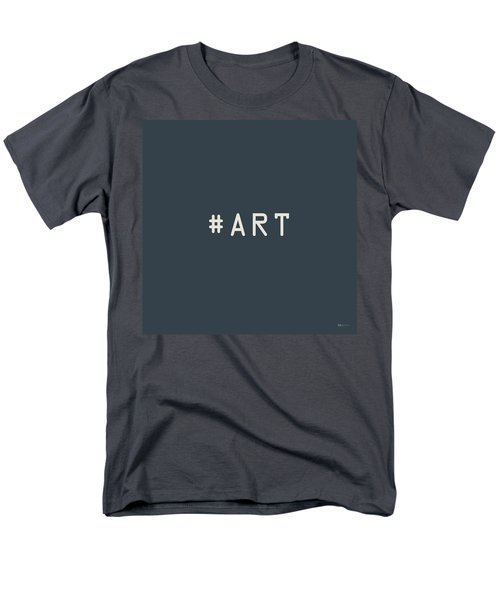 The Meaning Of Art - Hashtag Men's T-Shirt  (Regular Fit) by Serge Averbukh