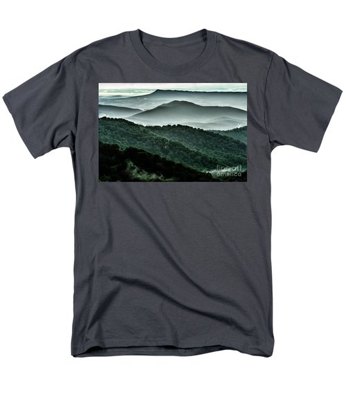 The Point Overlook Men's T-Shirt  (Regular Fit) by Thomas R Fletcher