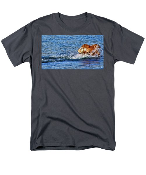 Men's T-Shirt  (Regular Fit) featuring the photograph There She Goes by Rhonda McDougall