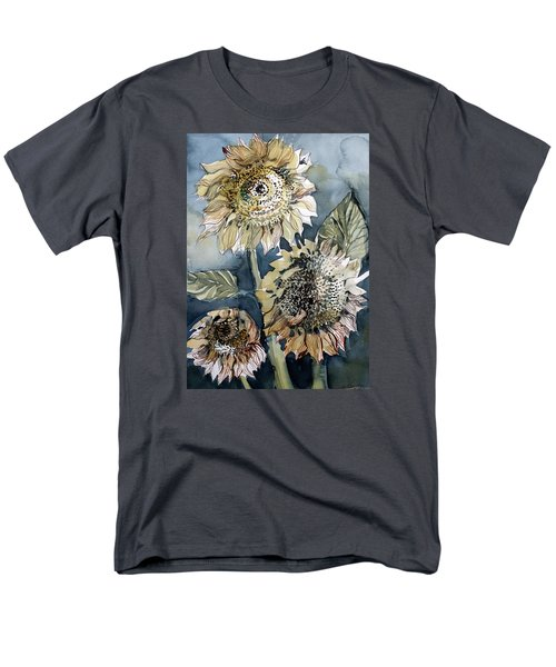 Three Sunflowers Men's T-Shirt  (Regular Fit) by Mindy Newman