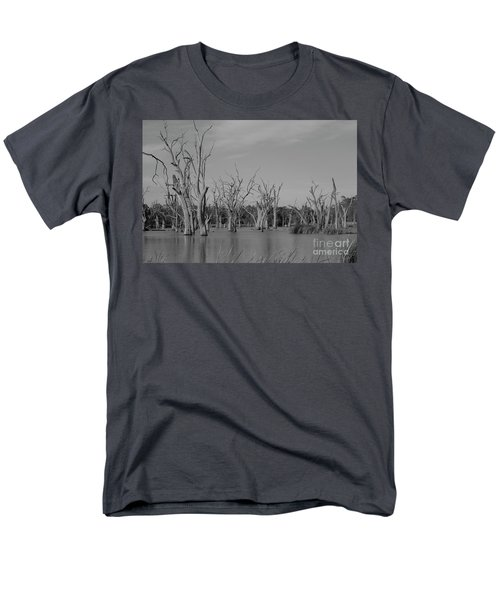 Men's T-Shirt  (Regular Fit) featuring the photograph Tree Cemetery by Douglas Barnard