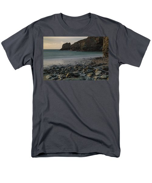 Men's T-Shirt  (Regular Fit) featuring the photograph Trevellas Cove by Brian Roscorla