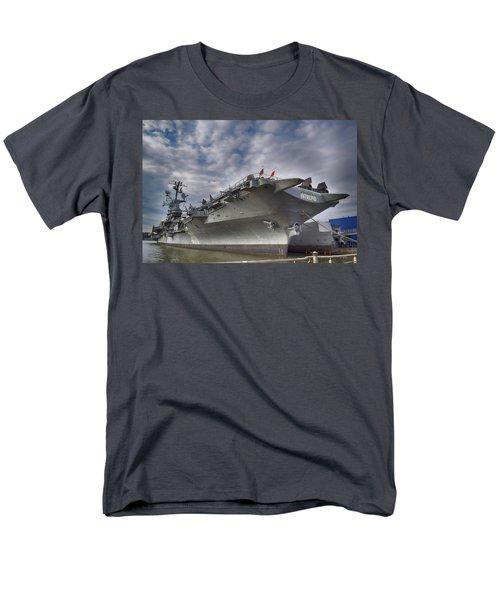 The U S S Intrepid  Men's T-Shirt  (Regular Fit)
