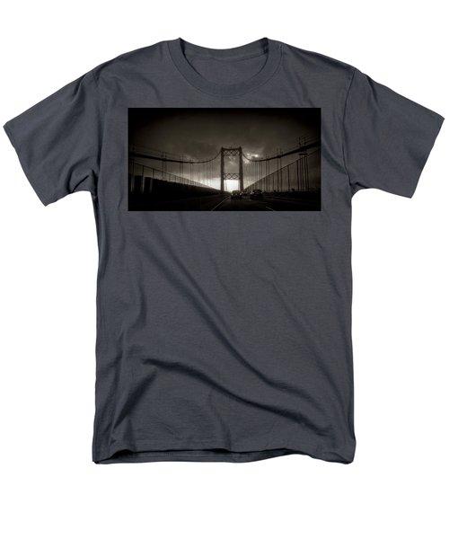Vincent Thomas Bridge Men's T-Shirt  (Regular Fit) by Joseph Hollingsworth