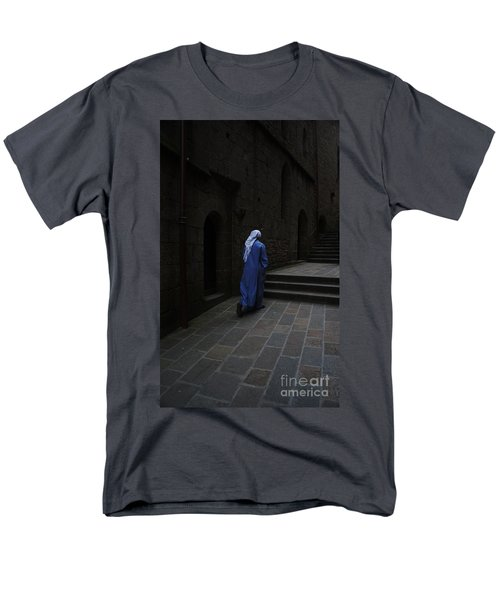 Walk Of Faith Men's T-Shirt  (Regular Fit) by Therese Alcorn