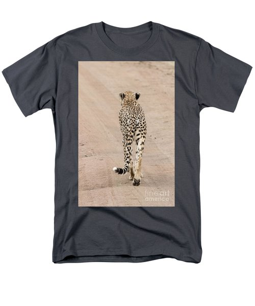 Men's T-Shirt  (Regular Fit) featuring the photograph Walking Away by Pravine Chester