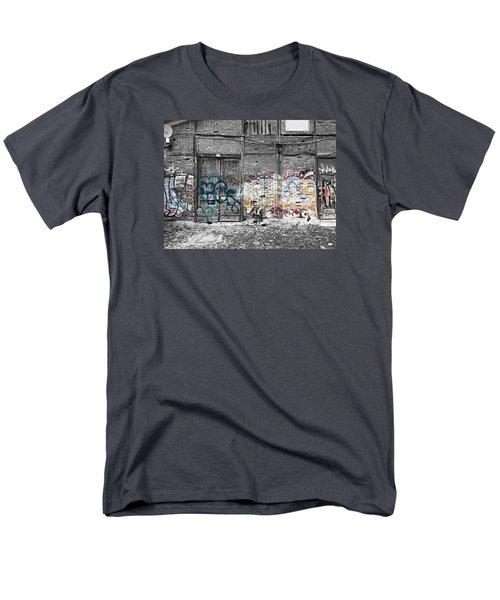 Warehouse In Lisbon Men's T-Shirt  (Regular Fit) by Ehiji Etomi