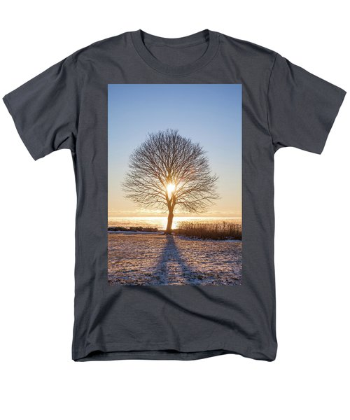 Men's T-Shirt  (Regular Fit) featuring the photograph Whaleback Sunrise by Robert Clifford