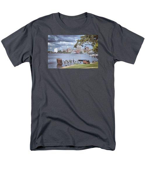Wilmington Riverfront Men's T-Shirt  (Regular Fit) by Phil Mancuso