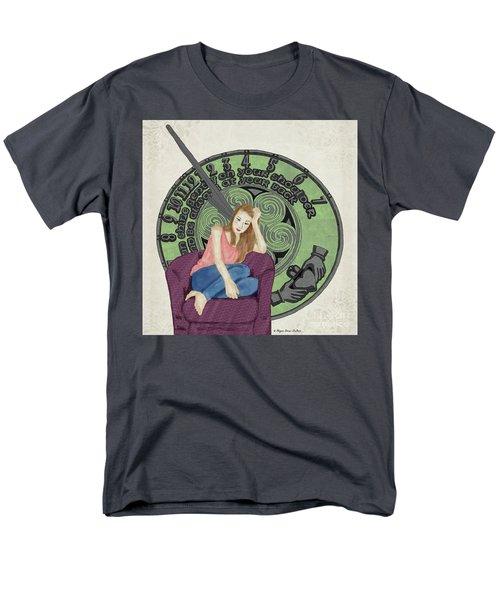 10 Months Men's T-Shirt  (Regular Fit) by Megan Dirsa-DuBois
