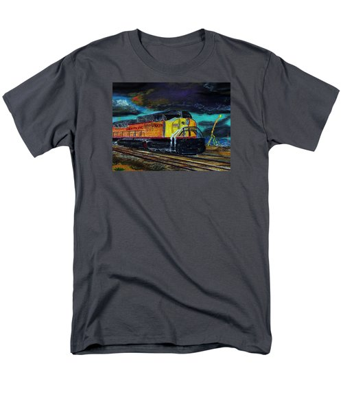 122415 East Bound Men's T-Shirt  (Regular Fit) by Garland Oldham