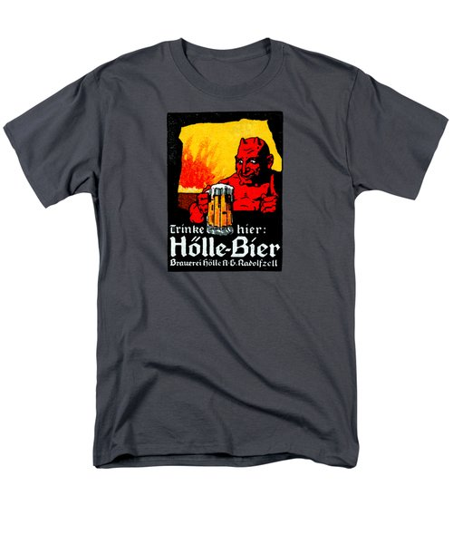 1905 German Beer Poster Men's T-Shirt  (Regular Fit) by Historic Image