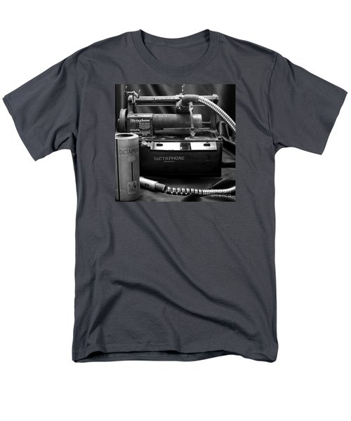 Men's T-Shirt  (Regular Fit) featuring the photograph 1912 Dictaphone  by Ricky L Jones