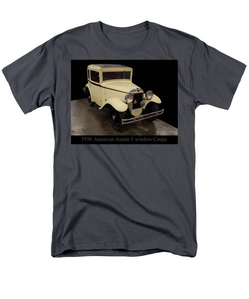 Men's T-Shirt  (Regular Fit) featuring the digital art 1930 American Austin 5 Window Coupe by Chris Flees