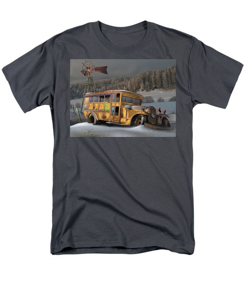 1931 Ford School Bus Men's T-Shirt  (Regular Fit) by Stuart Swartz