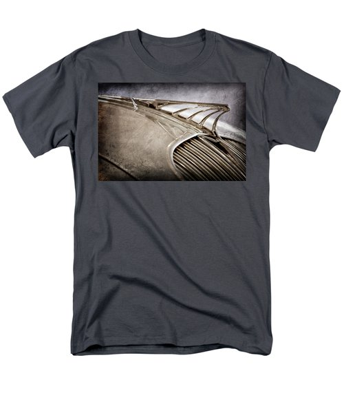 Men's T-Shirt  (Regular Fit) featuring the photograph 1934 Desoto Airflow Coupe Hood Ornament -2404ac by Jill Reger