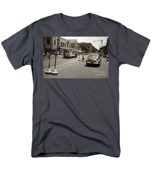 1940's Inwood Trolley Men's T-Shirt  (Regular Fit) by Cole Thompson