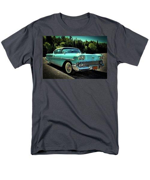 1958 Chevrolet Impala Men's T-Shirt  (Regular Fit) by David Patterson