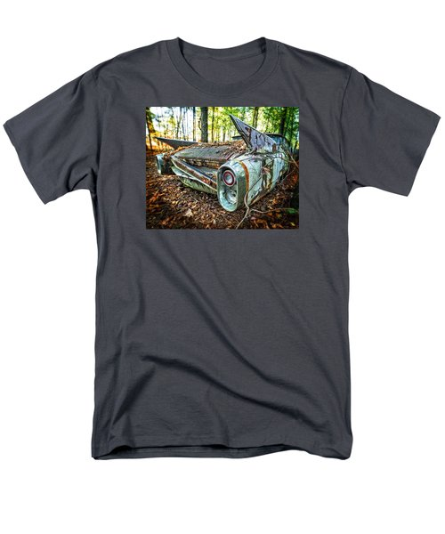 Men's T-Shirt  (Regular Fit) featuring the photograph 1960 Cadillac At Rest by Alan Raasch