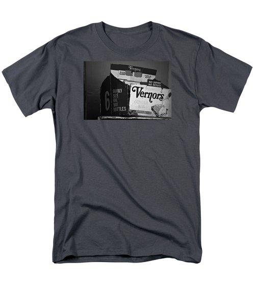 1960's Vernors Box. No Deposit, No Rerurn  Men's T-Shirt  (Regular Fit) by Sandra Church