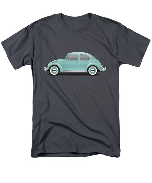 1961 Volkswagen Deluxe Sedan - Turquoise Men's T-Shirt  (Regular Fit)