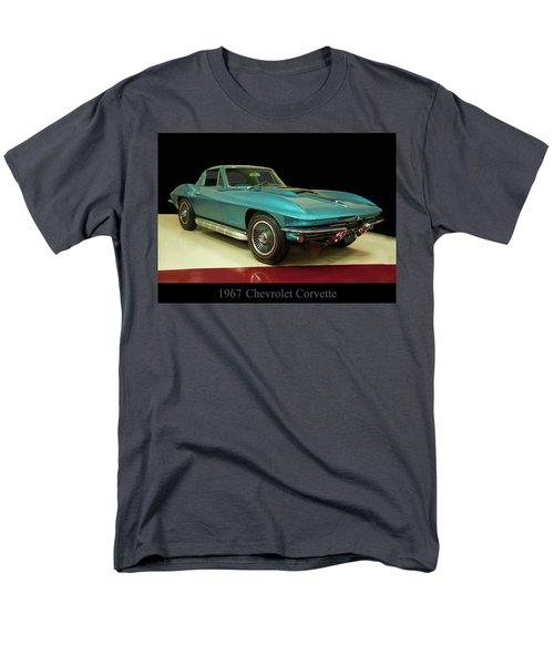 1967 Chevrolet Corvette 2 Men's T-Shirt  (Regular Fit) by Chris Flees