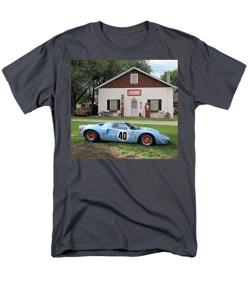 Men's T-Shirt  (Regular Fit) featuring the photograph 1968 Gulf Mirage In Missouri by Christopher McKenzie