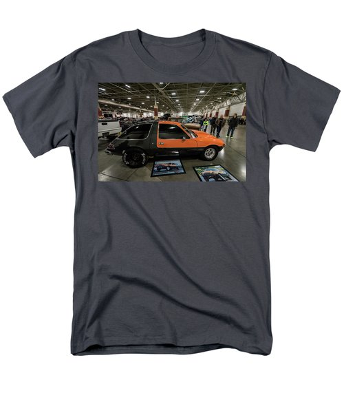 Men's T-Shirt  (Regular Fit) featuring the photograph 1975 Amc Pacer by Randy Scherkenbach