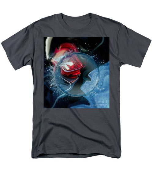 Men's T-Shirt  (Regular Fit) featuring the photograph Upheaval by Kathie Chicoine