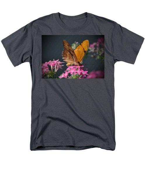 Men's T-Shirt  (Regular Fit) featuring the photograph Butterfly by Savannah Gibbs