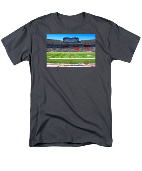 Camp Randall Uw Madison Men's T-Shirt  (Regular Fit) by Chris Smith