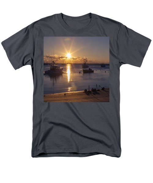 Men's T-Shirt  (Regular Fit) featuring the photograph Chatham Sunrise by Charles Harden