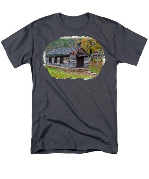 Church Men's T-Shirt  (Regular Fit) by John M Bailey