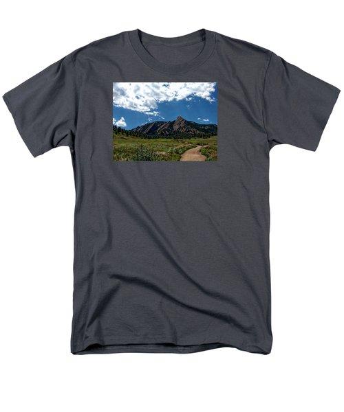 Colorado Landscape Men's T-Shirt  (Regular Fit) by Anthony Dezenzio