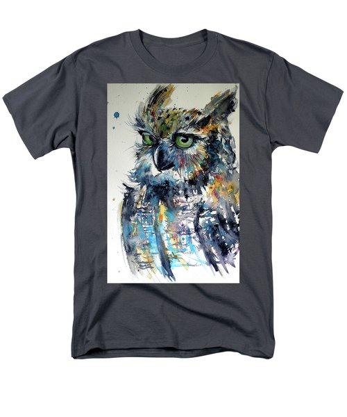 Cute Owl Men's T-Shirt  (Regular Fit) by Kovacs Anna Brigitta