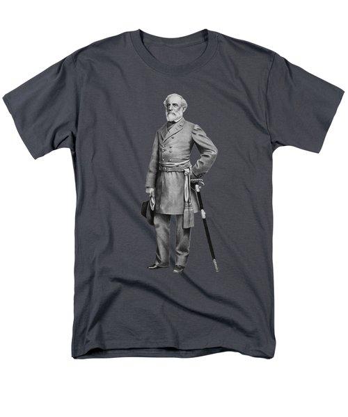 General Robert E. Lee Men's T-Shirt  (Regular Fit) by War Is Hell Store