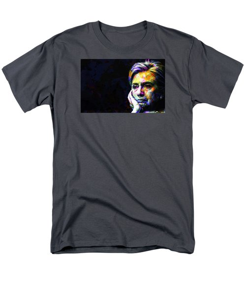 Hillary Clinton Men's T-Shirt  (Regular Fit) by Svelby Art