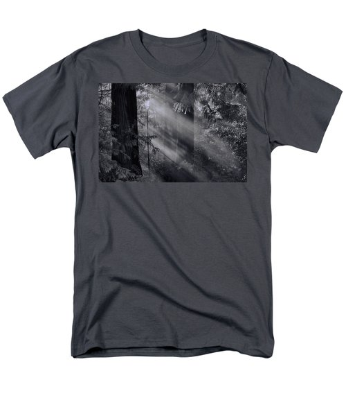 Let There Be Light Men's T-Shirt  (Regular Fit) by Don Schwartz