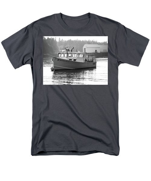 Men's T-Shirt  (Regular Fit) featuring the photograph Lobster Boat by Trace Kittrell