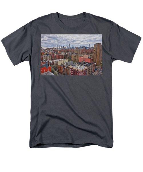 Manhattan Landscape Men's T-Shirt  (Regular Fit) by Joan Reese