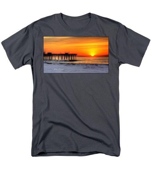 Margate Sunrise Men's T-Shirt  (Regular Fit) by John Loreaux