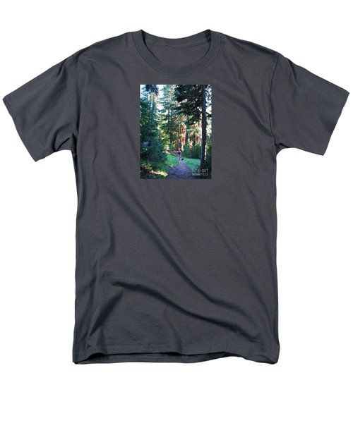 On A Hike Men's T-Shirt  (Regular Fit) by Michele Penner