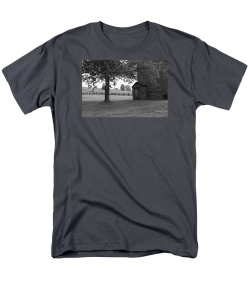 Men's T-Shirt  (Regular Fit) featuring the photograph Stone House by Heidi Poulin