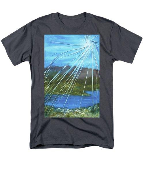 Sunshine Over Boise Men's T-Shirt  (Regular Fit)