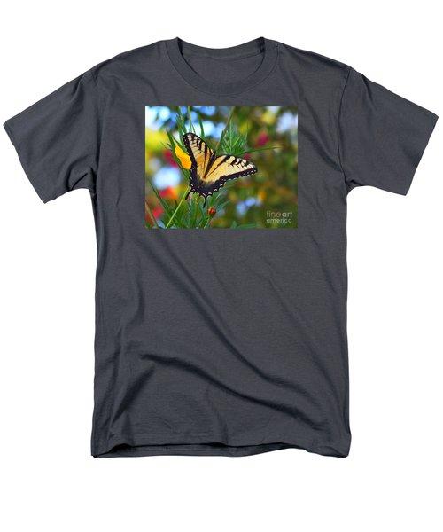 Swallowtail Butterfly Men's T-Shirt  (Regular Fit) by Scott Cameron