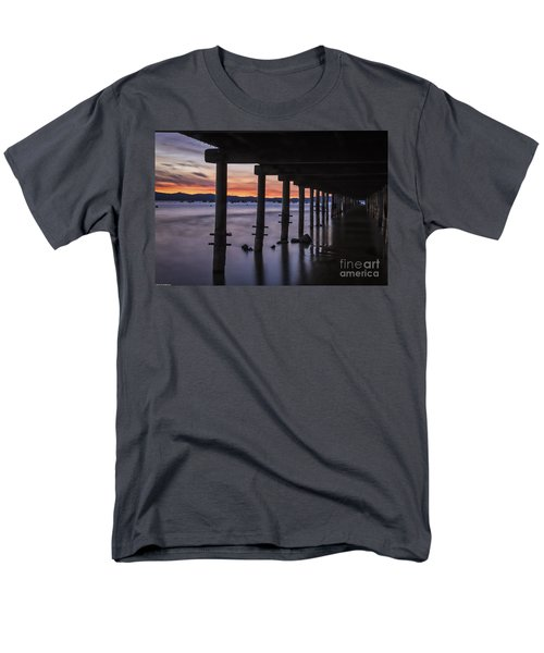 Timber Cove Men's T-Shirt  (Regular Fit) by Mitch Shindelbower