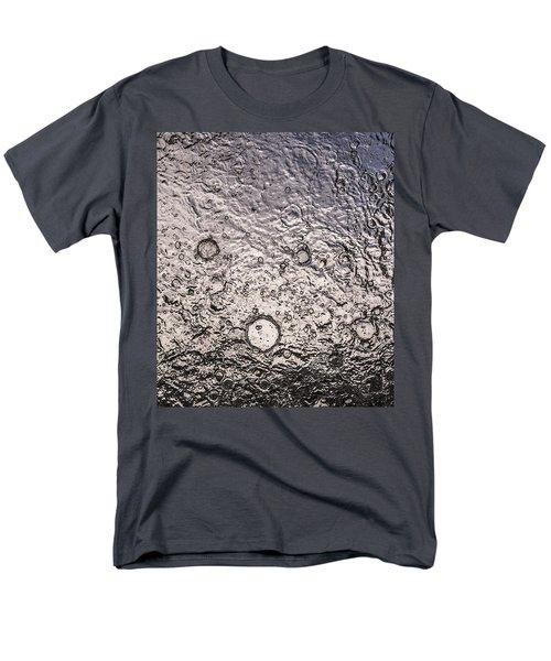 Water Abstraction - Liquid Metal Men's T-Shirt  (Regular Fit)